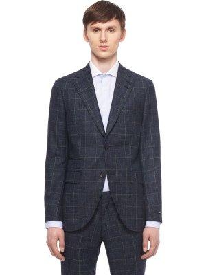 Костюмный пиджак TIGER OF SWEDEN. Цвет: синий