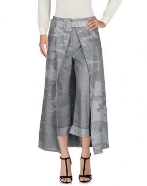 Длинная юбка BRAND UNIQUE. Цвет: серый