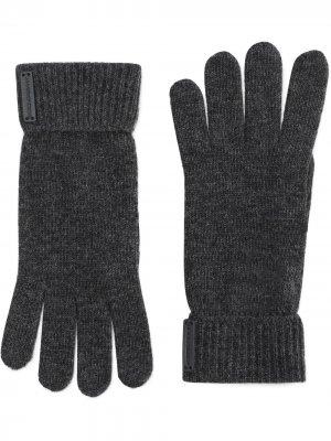 Вязаные перчатки Dolce & Gabbana. Цвет: серый