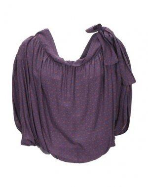 Блузка LA FABRIQUE. Цвет: фиолетовый