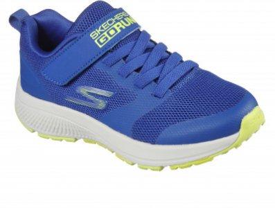 Кроссовки для мальчиков Go Run Consistent, размер 34.5 Skechers. Цвет: голубой