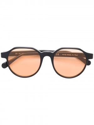 Солнцезащитные очки Noto Retrosuperfuture. Цвет: черный