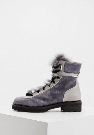 Ботинки Ballin. Цвет: серый