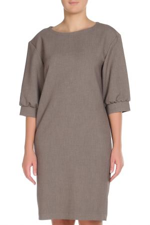Платье Cyrille Gassiline. Цвет: бежевый