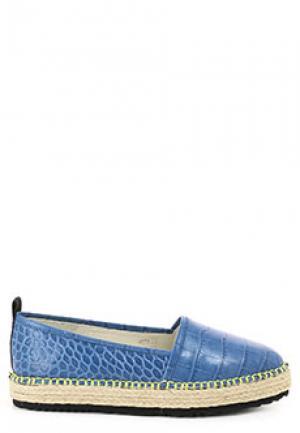 Эспадрильи MSGM. Цвет: синий
