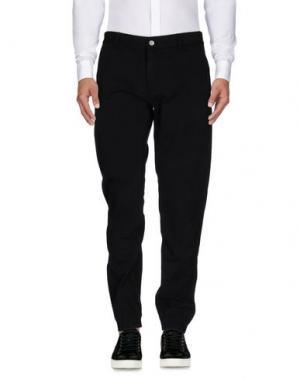Повседневные брюки IUTER. Цвет: черный