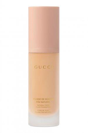 Fluide De Beauté Fini Naturel – Тональное средство 170W Gucci Beauty. Цвет: бежевый