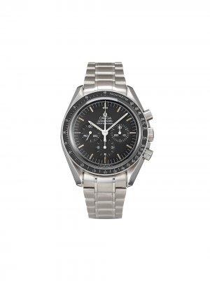 Наручные часы Speedmaster Professional Moonwatch pre-owned 42 мм 1985-го года Omega. Цвет: черный