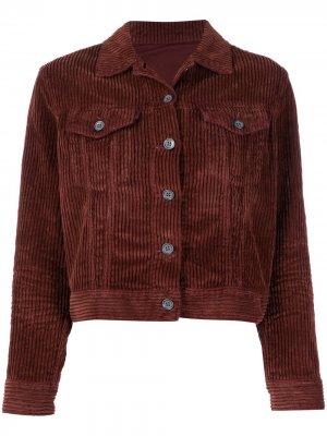 Укороченная куртка Haikure. Цвет: коричневый
