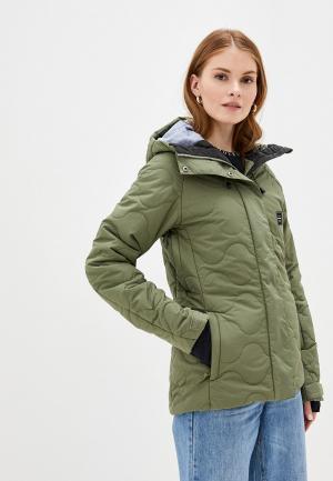 Куртка горнолыжная Billabong. Цвет: зеленый