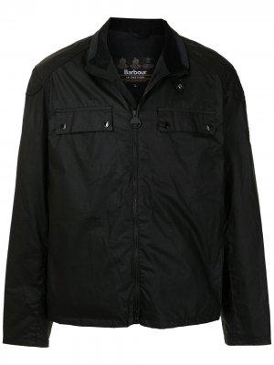 Куртка с нагрудными карманами Barbour. Цвет: черный