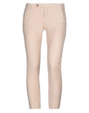 Повседневные брюки TRUE TRADITION. Цвет: песочный
