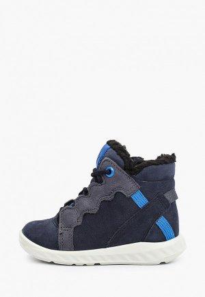 Ботинки Ecco SP.1 LITE INFANT. Цвет: синий