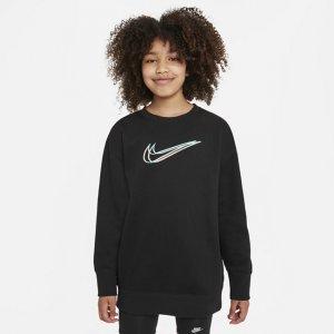 Толстовка для девочек школьного возраста Sportswear - Черный Nike