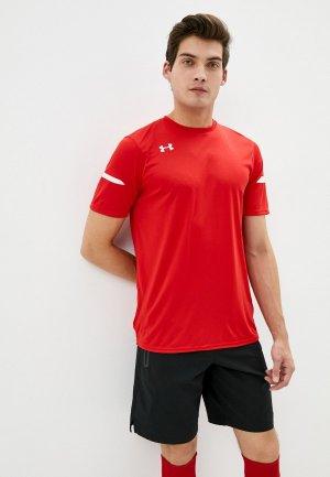 Футболка спортивная Under Armour Golazo 2.0 Jersey. Цвет: красный