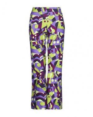 Повседневные брюки BINI Como. Цвет: фиолетовый