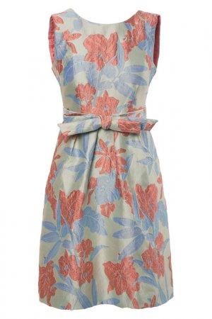 Платье Apart. Цвет: голубой, мультицвет