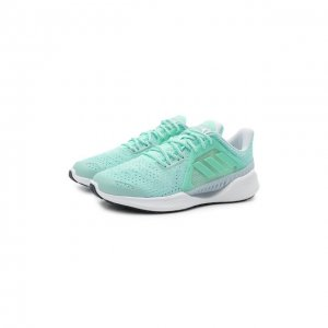 Текстильные кроссовки Climacool Vent adidas Originals. Цвет: зелёный