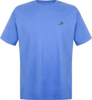 Футболка мужская , размер 44-46 Demix. Цвет: синий
