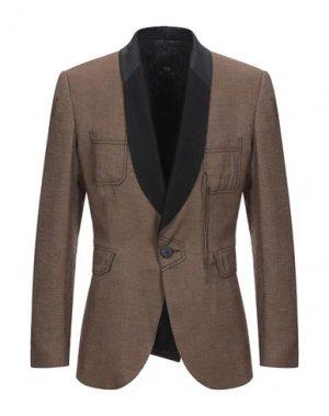 Пиджак TOM REBL. Цвет: коричневый