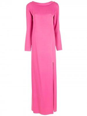 Вечернее платье Gloria Coelho. Цвет: розовый