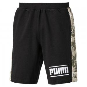 Шорты Camo Pack Shorts PUMA. Цвет: черный