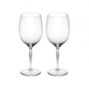 Набор из 2-х бокалов для вина Bordeaux 100 Points Lalique. Цвет: прозрачный