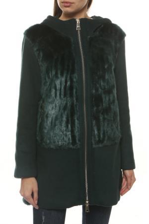 Куртка Liu Jo. Цвет: зеленый