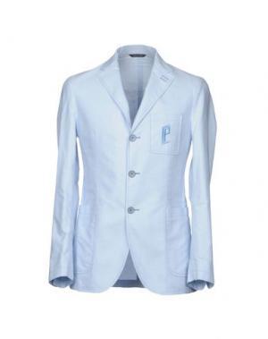 Пиджак CARLO PIGNATELLI OUTSIDE. Цвет: небесно-голубой