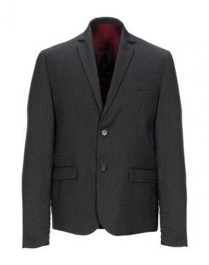 Пиджак MARKUP. Цвет: стальной серый