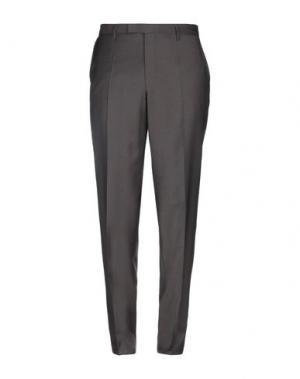 Повседневные брюки BALDESSARINI. Цвет: темно-коричневый