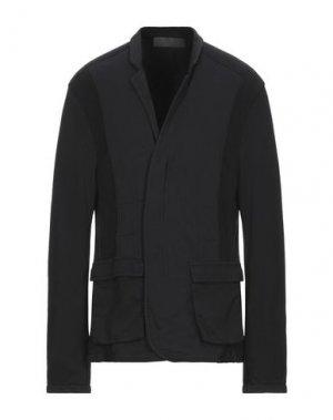 Пиджак HAIDER ACKERMANN. Цвет: черный