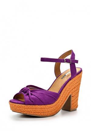 Босоножки LA STRADA. Цвет: фиолетовый