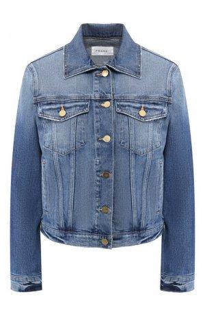 Джинсовая куртка Frame Denim. Цвет: синий