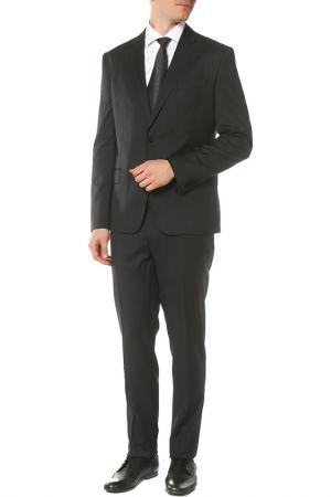 Костюм: пиджак, брюки Roberto Cavalli. Цвет: серый