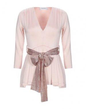 Блузка ANNA RACHELE. Цвет: светло-розовый