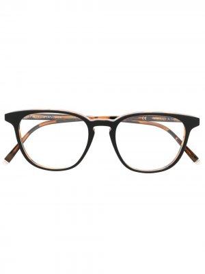 Солнцезащитные очки в квадратной оправе Retrosuperfuture. Цвет: коричневый
