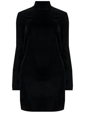 Бархатное платье YSL