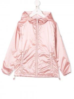 Пальто с капюшоном Ciesse Piumini Junior. Цвет: розовый