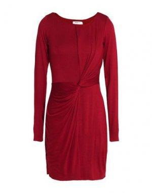 Короткое платье BAILEY 44. Цвет: красно-коричневый