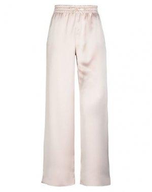 Повседневные брюки BLACK LABEL. Цвет: пудровый