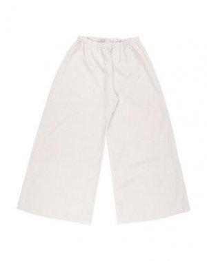 Повседневные брюки BISOUS. Цвет: слоновая кость