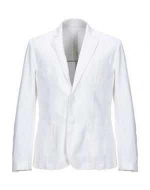 Пиджак ERMANNO DI SCERVINO. Цвет: белый