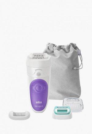 Эпилятор Braun Silk-epil 5 SensoSmart 5/880. Цвет: белый