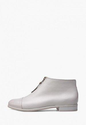 Ботинки Alla Pugachova. Цвет: серый