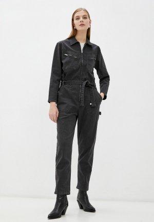 Комбинезон джинсовый Iro. Цвет: серый