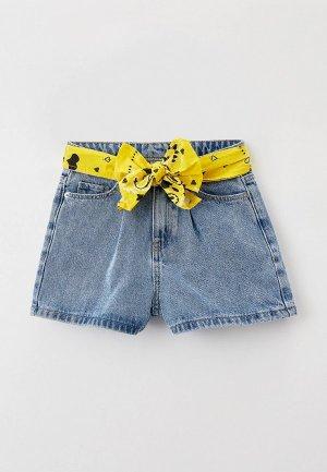 Шорты джинсовые Ostin O'stin. Цвет: голубой
