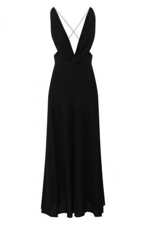 Платье-миди Givenchy. Цвет: чёрный