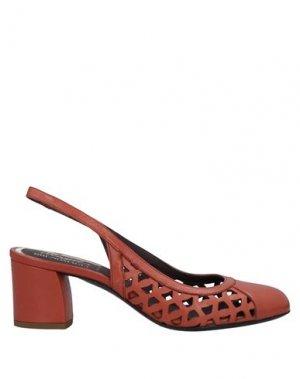 Туфли MAGLI by BRUNO. Цвет: ржаво-коричневый
