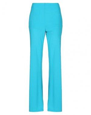 Повседневные брюки CLIPS. Цвет: бирюзовый